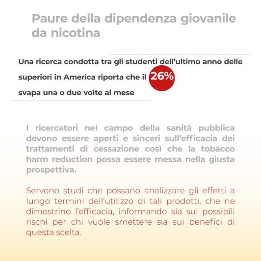 Dipendenza giovanile Tobacco Harm Reduction